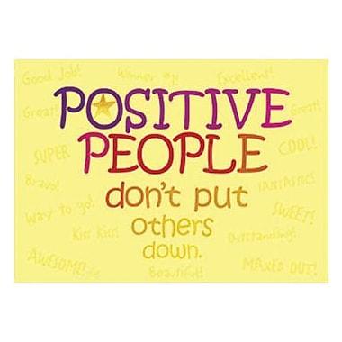 Trend Enterprises® ARGUS® Poster, Positive People Don't Put Others Down