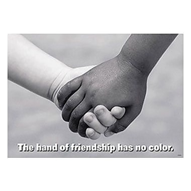 Trend Enterprises® ARGUS® Poster, The Hand of Friendship Has