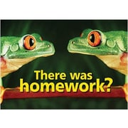 Trend Enterprises® ARGUS® Poster, There Was Homework