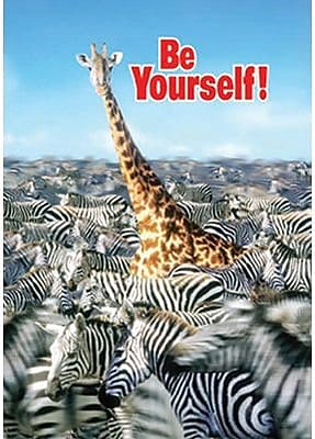 Trend Enterprises® ARGUS® Poster, Be Yourself!