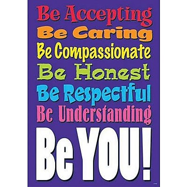 Trend Enterprises® ARGUS® Poster, Be Accepting. Be Caring