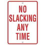 Trend Enterprises® ARGUS® Poster, No Slacking