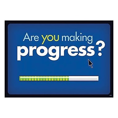 Trend Enterprises® ARGUS® Poster, Are You Making Progress