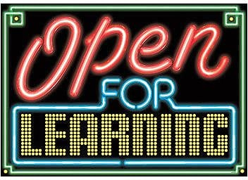Trend Enterprises® ARGUS® Poster, Yes, We're Open For Learning