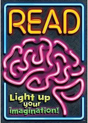 Trend Enterprises® ARGUS® Poster, Read - Light Up Your Imagination