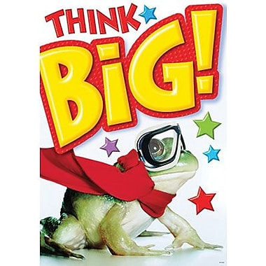 Trend Enterprises® ARGUS® Poster, Think Big