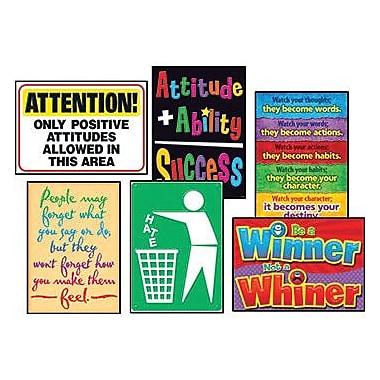 Trend Enterprises® ARGUS® Poster Combo Pack, Attitude Matters