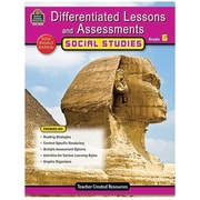 Teacher Created Resources® Differentiated Lessons Social Studies Reading Book, Grades 6th