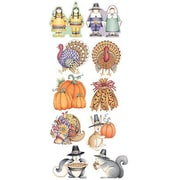 "Teacher Created Resources TCR3965 6"" DieCut We Are Thankful Accents by Debbie Mumm Accents, Multicolor"