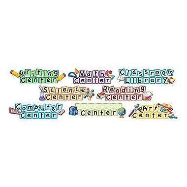 Teacher Created Resources® Mini Bulletin Board Set, Center Signs