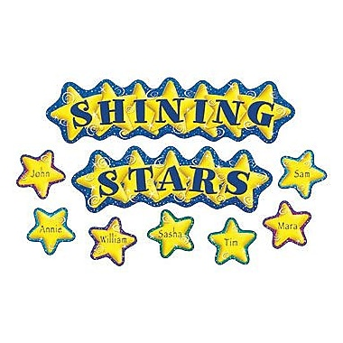 Teacher Created Resources Mini Bulletin Board Set, Shining Stars, 156/Pack (TCR4780)