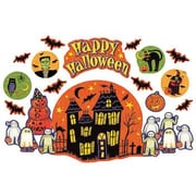 Teacher Created Resources Bulletin Board Set, Susan Winget Happy Halloween, 52/Pack (TCR4796)