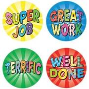 Teacher Created Resources® Good Work 2 Wear 'Em Badge