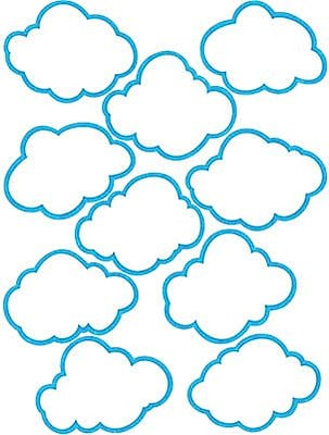 Teacher Created Resources Accents, Clouds