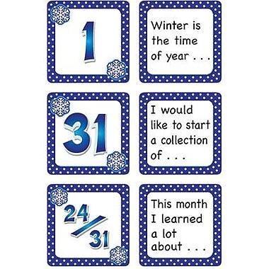 Teacher Created Resources® Calendar Days/Story Starters Mini Pack, Polka Dot, January