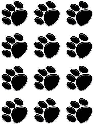 Teacher Created Resources Accents, Black Paw Prints