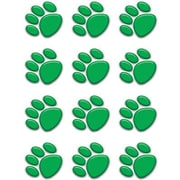 Teacher Created Resources® Toddler - 12th Grades Mini Accents, Green Paw Prints