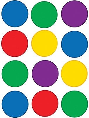 Teacher Created Resources Mini Accents, Colorful Circles