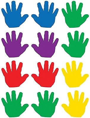 Teacher Created Resources Mini Accents, Handprints