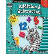 Teacher Created Resources Ready-Set-Learn, Addition & Subtraction, Grade 1