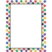 Teacher Created Resources® Colorful Paw Prints Blank Chart
