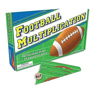Teacher Created Resources Football Multiplication Game, Grade 2 - 4 (TCR7807)