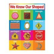Teacher's Friend® Shapes Chart, Grades Pre Kindergarten - 5th