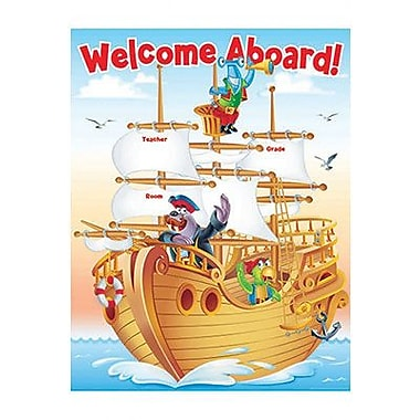 Teacher's Friend® Sea Adventure Welcome Chart, Grades Pre Kindergarten - 5th