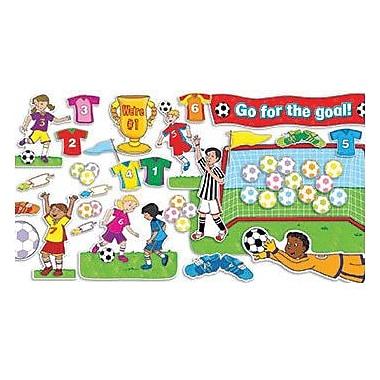 Teacher's Friend® Bulletin Board Set, Soccer Goals, 56/Set