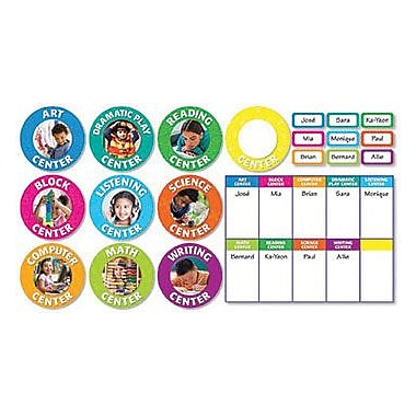 Scholastic Teacher's Friend Bulletin Board Set, Classroom Center Signs, 51/Pack (TF-8412)