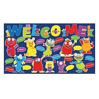 Teacher's Friend® Bulletin Board Set, Monsters Welcome