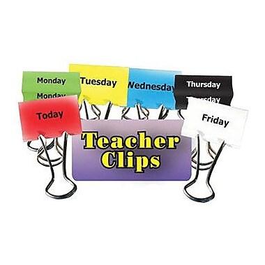 Top Notch Teacher Products Days of The Week Teacher Clip Set, 2