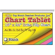 "Top Notch Teacher Products® 16"" x 24"" Blank Chart Tablet"