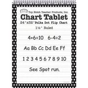 "Top Notch Teacher Products® 32"" x 24"" Polka Dots Chart Tablets"