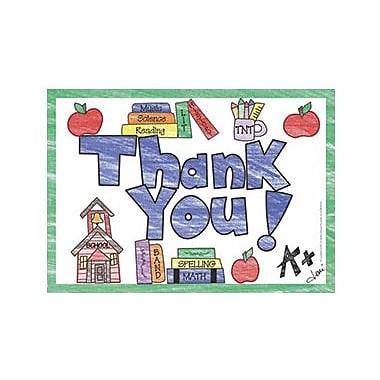 Top Notch Teacher Products® Thank You Postcard