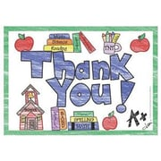 Top Notch Teacher Products® Thank You Postcard