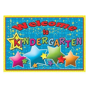Top Notch Teacher Products® Welcome and Encourage To Kindergarten Postcard, 30/pack (TOP5116)