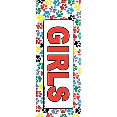 Top Notch Teacher Products® Hall Pass, Girls Paws