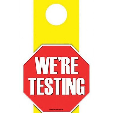 Top Notch Teacher Products® Kindergarten - 12th Grades Die-Cut Accents, We're Testing