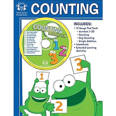 Twin Sisters® Counting Workbook and CD