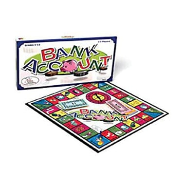 Wca Bank Account Game, Grade 5+ (CRE4377)