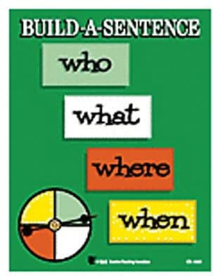 WCA Build a Sentence Game, Grades 1st - 5th, 2 EA/BD