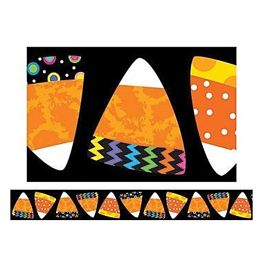 Creative Teaching Press™ pre-school - 12th Grades Straight Bulletin Board Border, Candy Corn