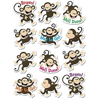 Creative Teaching Press™ Stickers, Monkeys
