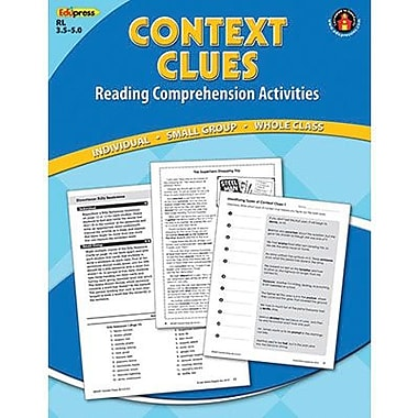 Edupress® Context Clues Reading Comprehension Book