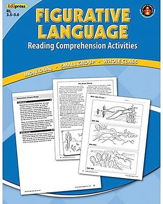 Edupress® Figurative Language Reading Comprehension Book