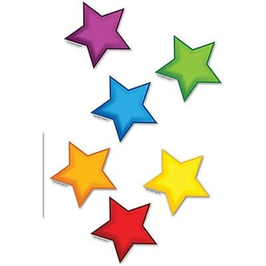 Edupress Mini Bulletin Board Accents, Colourful Stars, 324/Pack (EP-2663)
