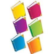 "Edupress EP3154 6"" x 8"" DieCut Books Bulletin Board Accents, Assorted"