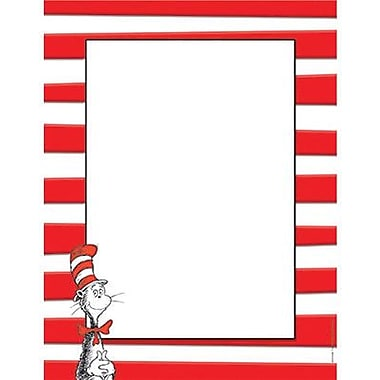 Eureka The Cat In The Hat Computer Paper 11