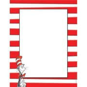 "Eureka The Cat in the Hat Computer Paper 11"" x 8.5"", Red/White (EU-812110)"